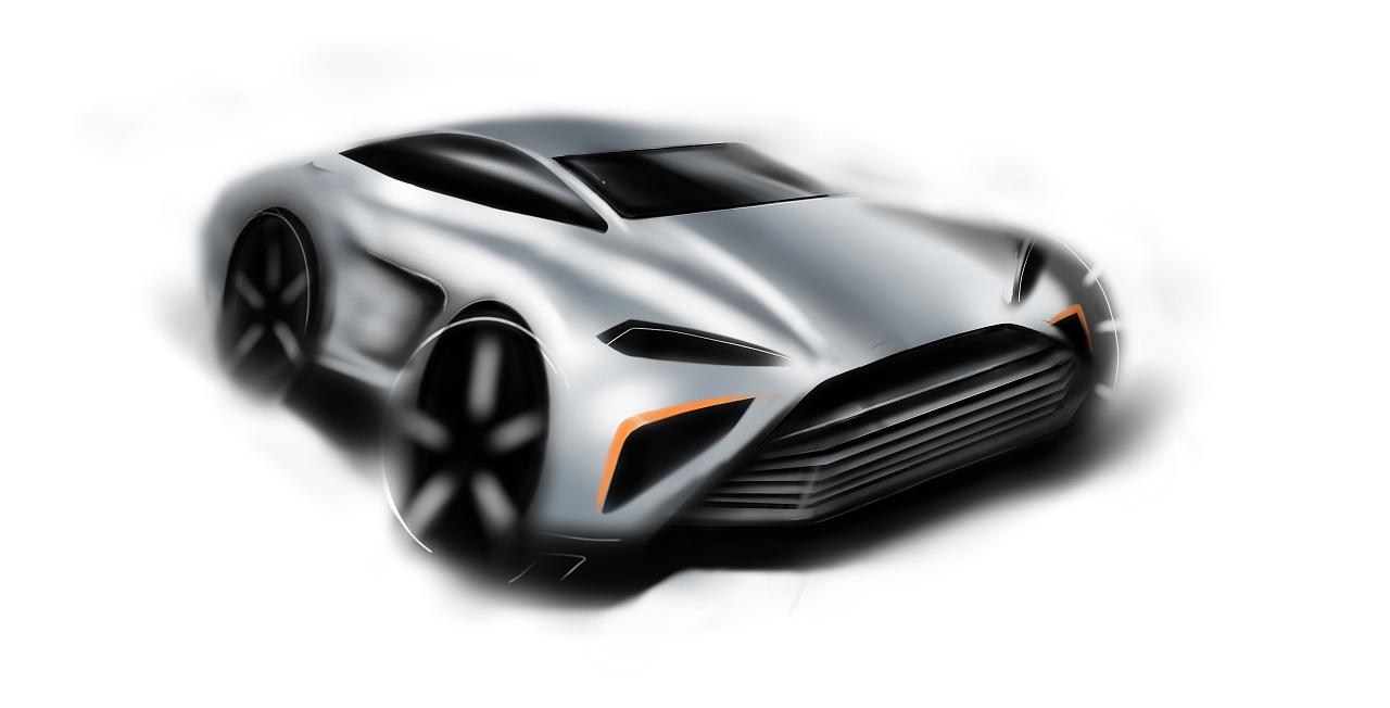 原创汽车手绘