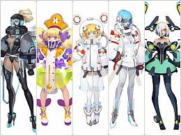 角色设计-科幻现代向
