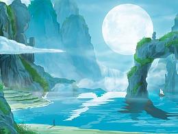 举头望山月