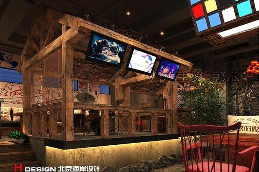 北京烤功夫案例设计餐饮|字体|室内设计|海岸设计气空间设计图片欣赏图片