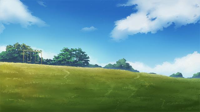 草坪手绘效果图