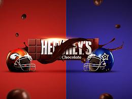 模仿-好时巧克力