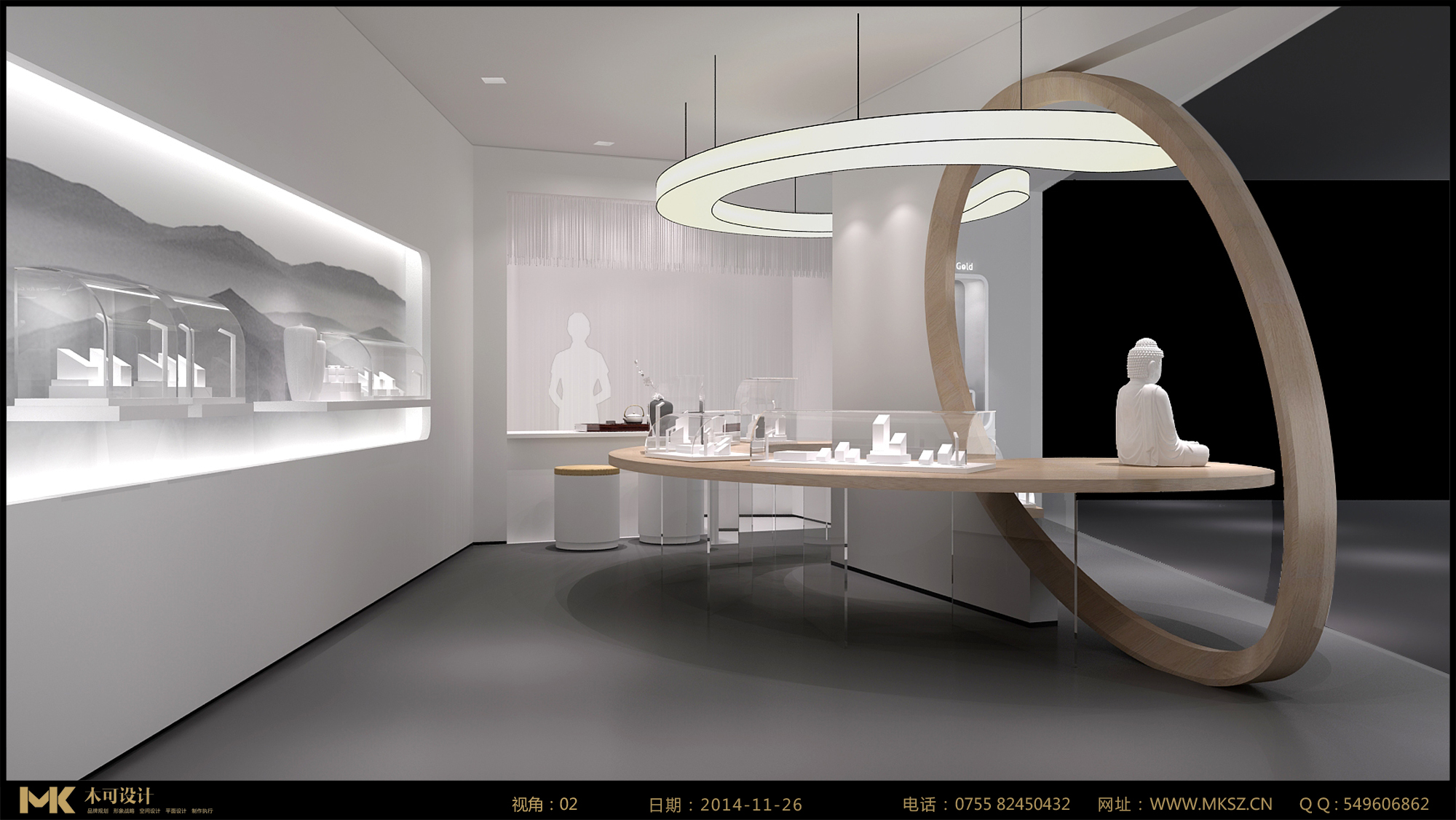 珠宝展示空间设计说明 图片合集图片