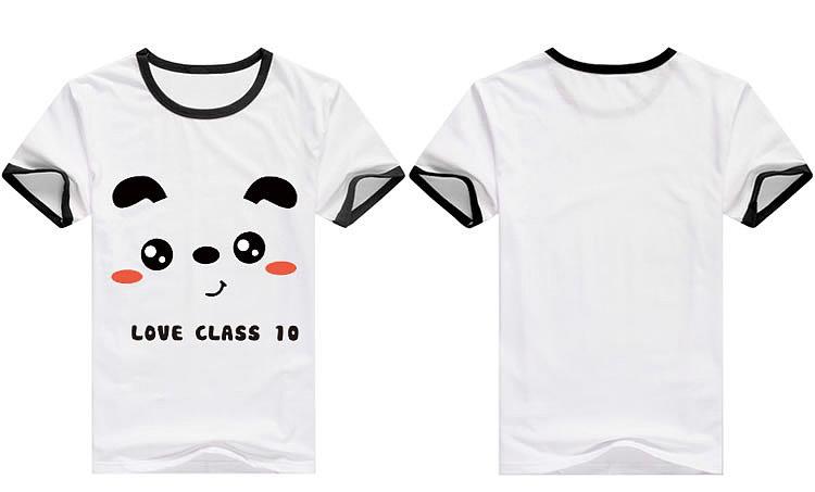 10班班服设计10班班服图案可爱表情班服图案设计 -班服中国