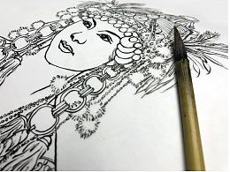 线相系列—钢笔画·人物速写
