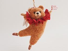 囍囍的羊毛毡 之 芭蕾舞熊