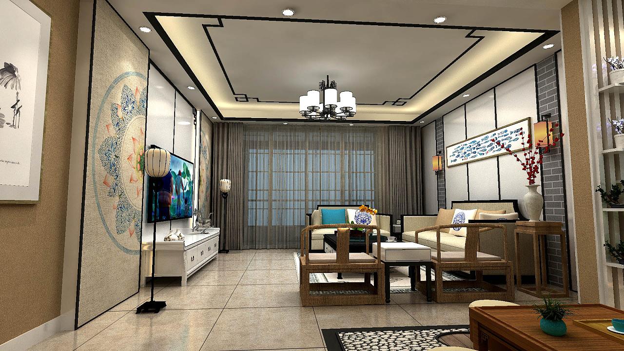 新中式室内设计图片著作权外观设计图片