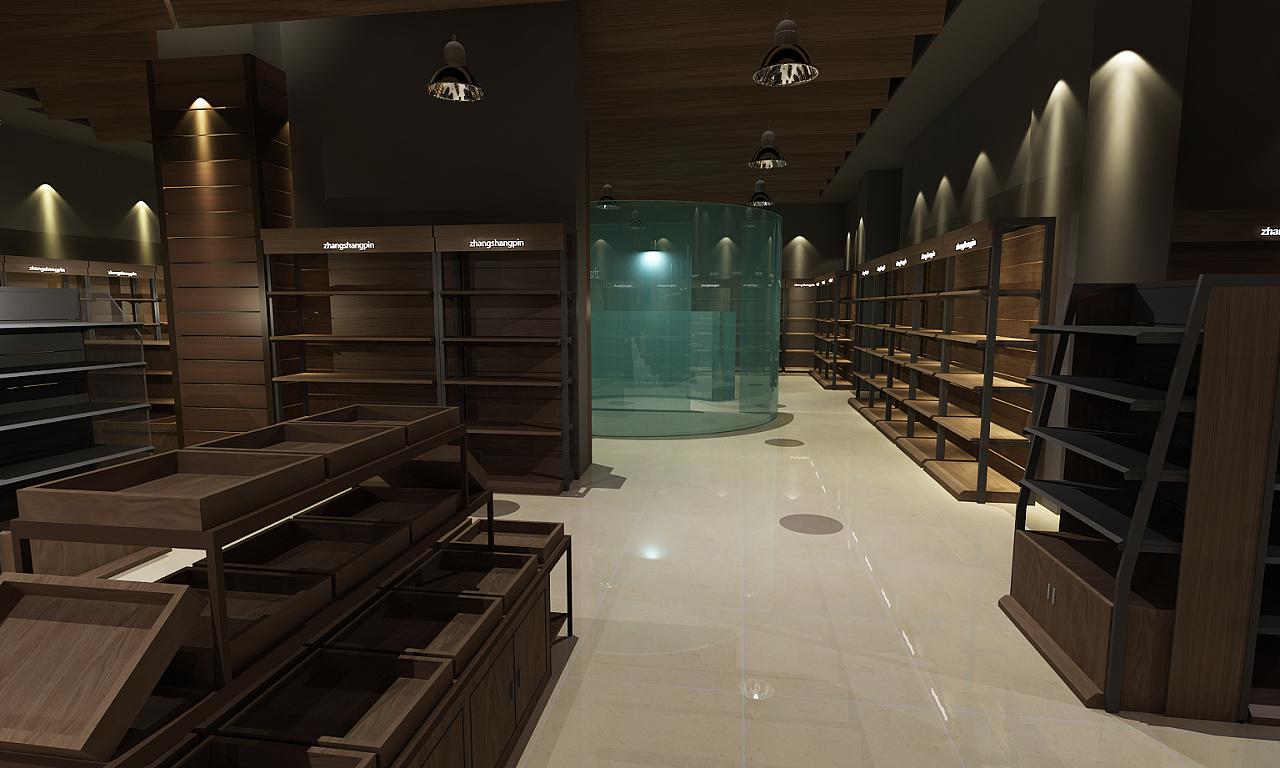 精品超市空间|空间|展示设计 |dshang3302 - 原创作品