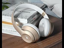 渲染练习   两组耳机渲染