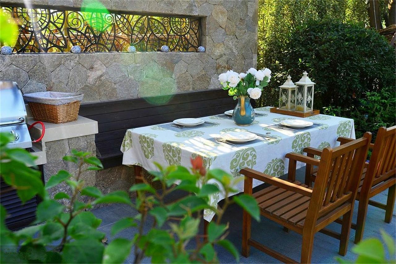 景观手绘彩铅画桌子