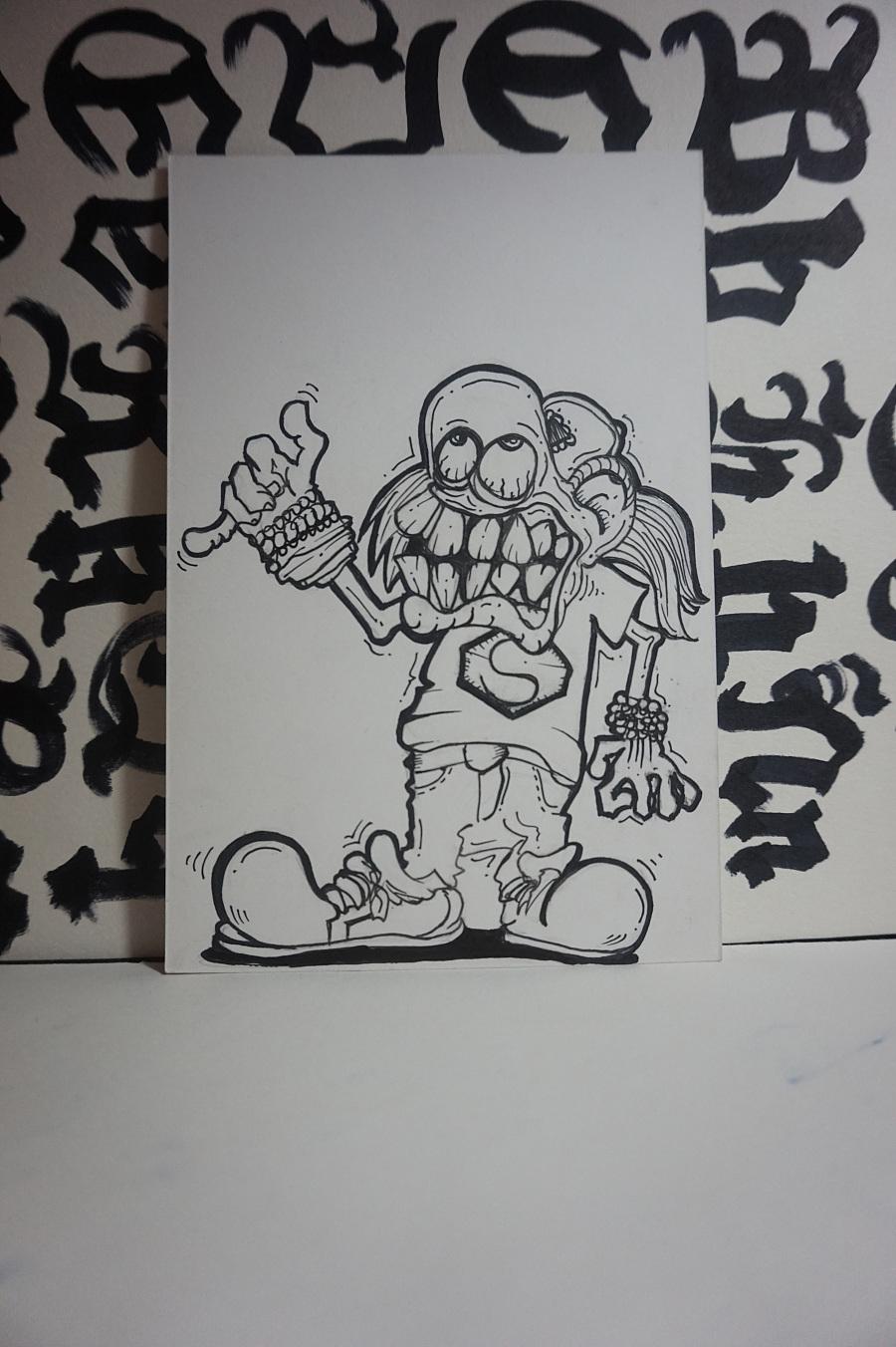 原创作品:手绘 明信片