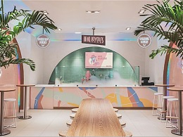 【颜悦 • 燕窝 】 品牌店面空间设计 — 远大品牌设计