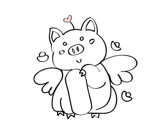 猪年吉祥物图片
