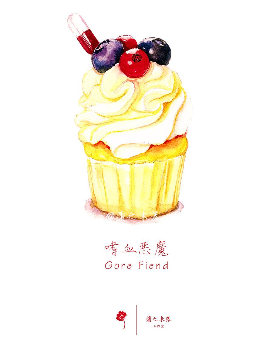 水彩手绘--超级好吃的甜品大合集