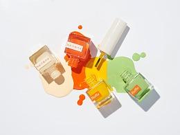 指甲油产品图摄影