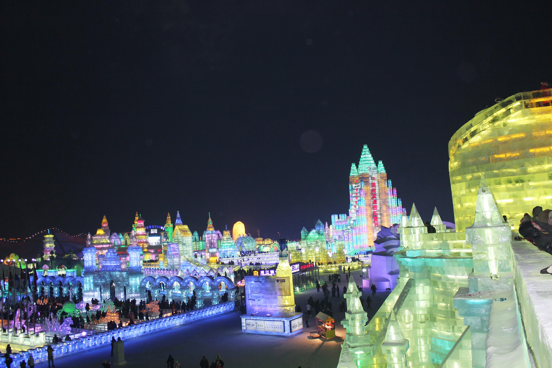 哈尔滨冰雪大世界!图片