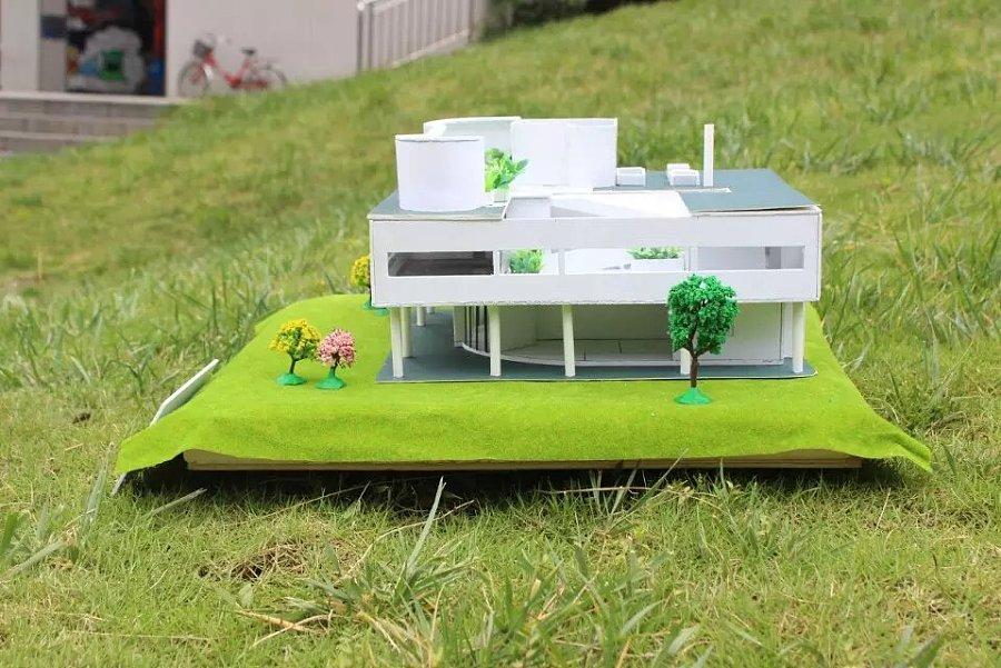 建筑模型——萨伏伊空间|建筑设计|别墅/建筑|倩别墅颐居二手房中山润图片