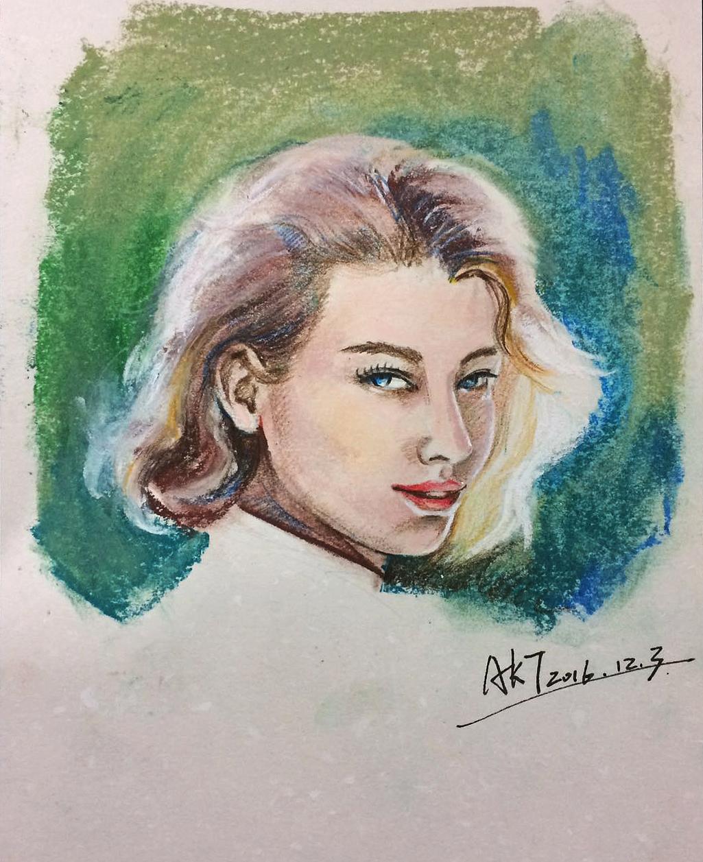 水彩手绘练习