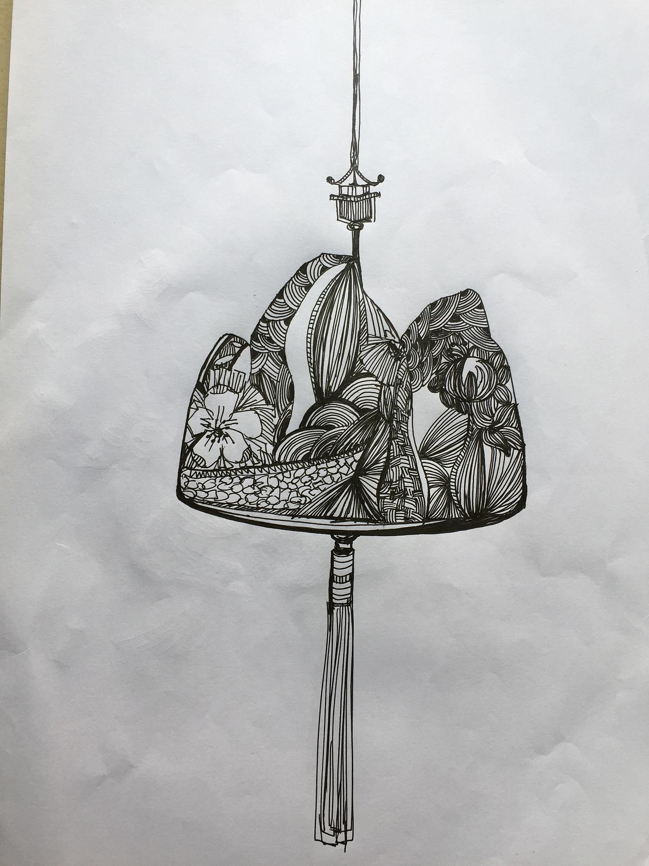 三角香囊制作方法图解