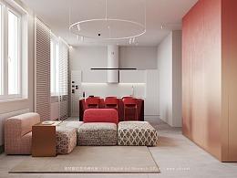 易梵视觉/住宅空间/练习场景