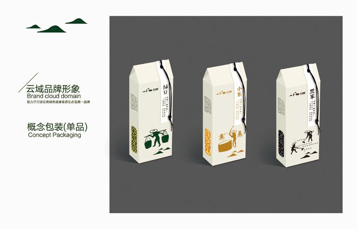 五谷杂粮标签设计