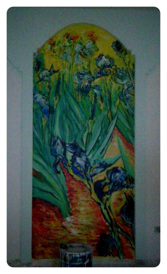成都手绘墙壁画涂鸦3ddiy墙绘油画价格|油画|纯艺术