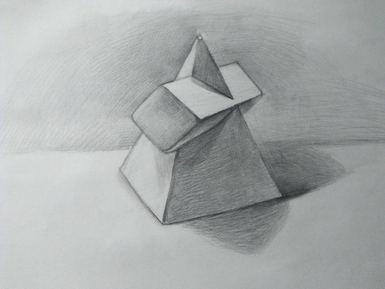 手绘素描作品