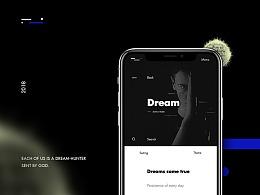 Art Web Design&Dreamcatcher时尚模特官网首页