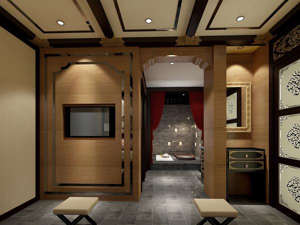 戴斯美容会所装修设计公司 郑州专业美容院装修设计图片