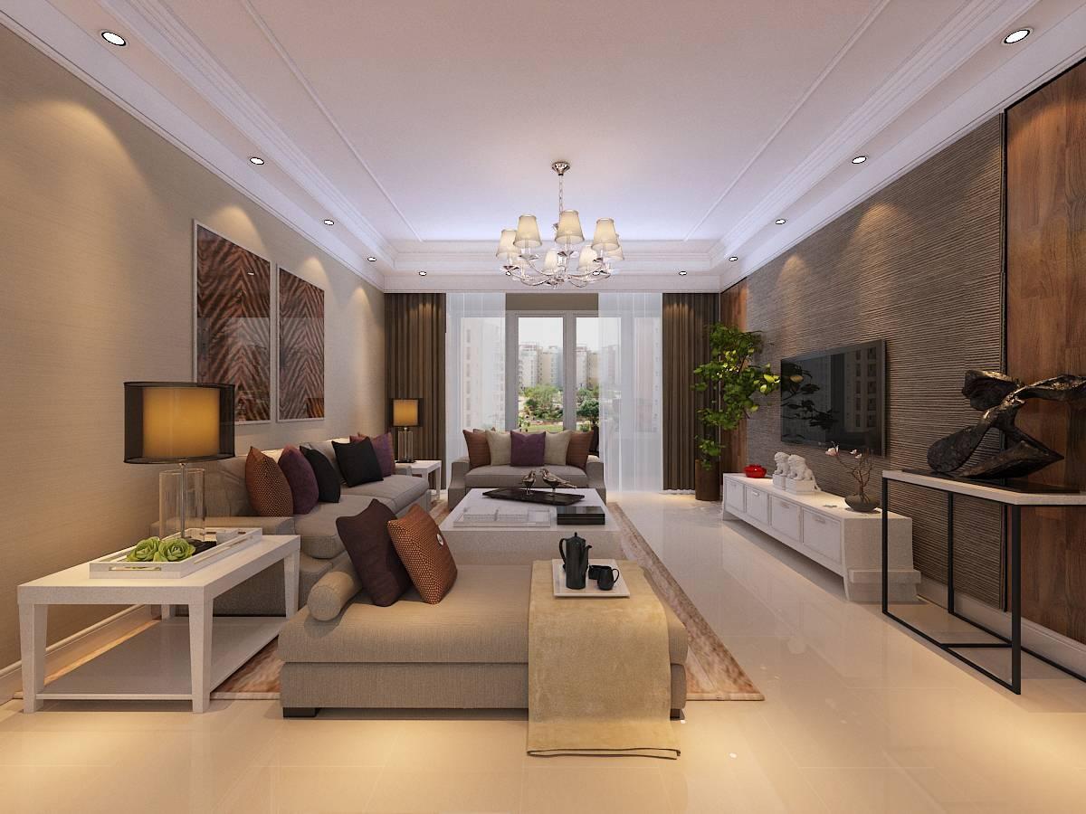 【林荫大院】-119㎡-港式风格|空间|室内设计|金舍小图片