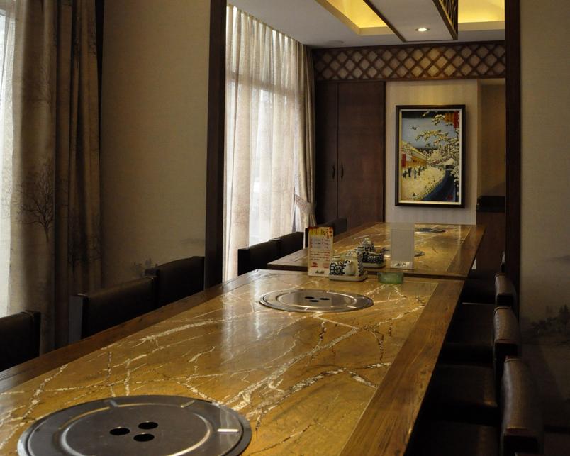 和惠日本料理店设计-甘肃日式说明店装修设计创业园景观设计料理图片