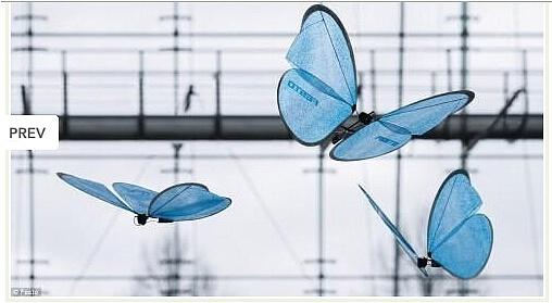 产品设计_机械蝴蝶