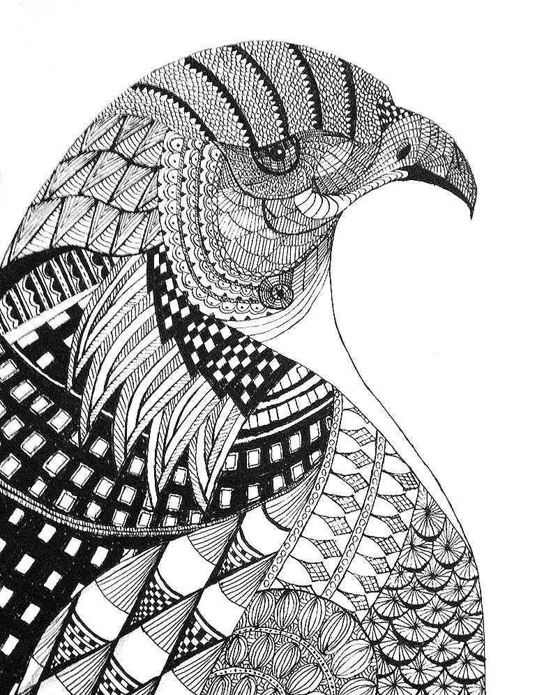 点线面构成创意作品_点线面构成-/钢笔画/手绘/绘画/图形创意/设计表现方法|平面|图案 ...