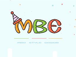 MBE风格水果图标