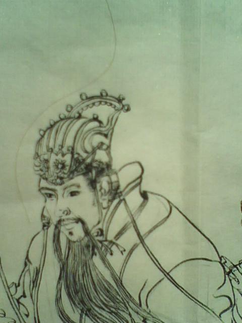工笔画白描人物练习
