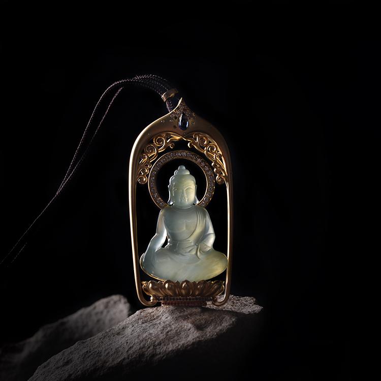 玉雕摄影,用光诠释它想表达的意境。