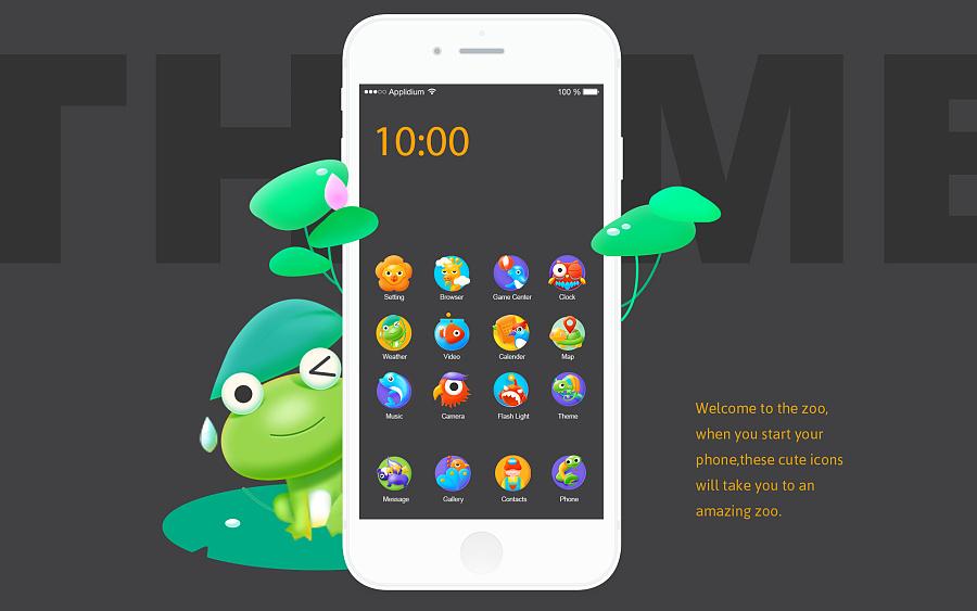 查看《ZOO手机手机主题》原图,原图尺寸:1920x1200