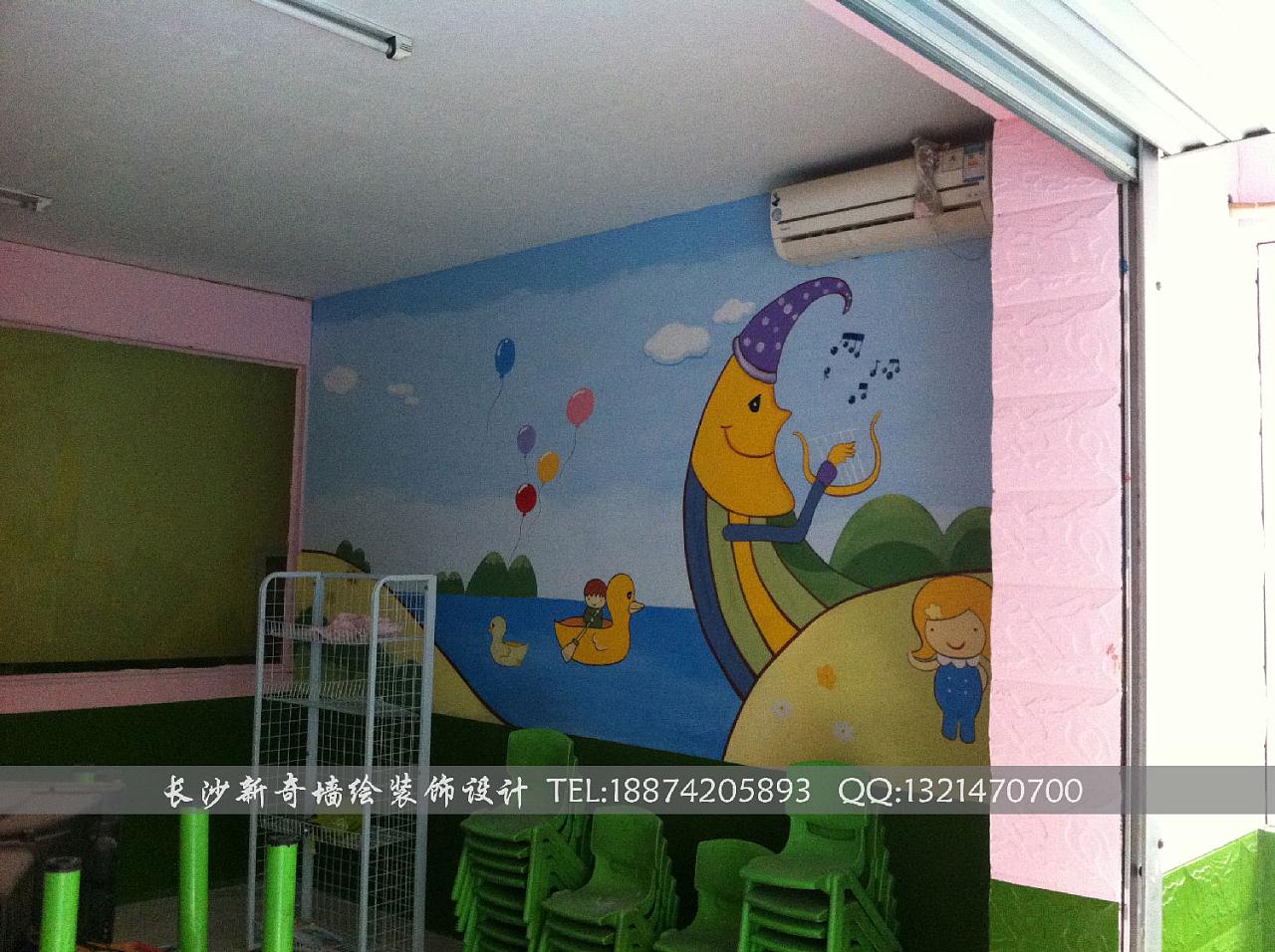 长沙新奇墙绘,长沙墙绘,长沙壁画,长沙手绘墙,长沙幼儿园墙绘,壁画