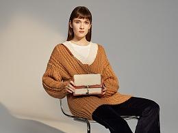 2018个人作品集——羊羔毛系列女包设计