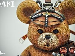 STEAMARTS和DAKI的合作款-DAKI熊
