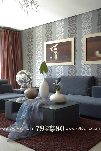 七九八零室内设计机构简约v机构声级|室内等案例线的绘制图片