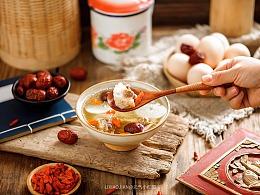 暖胃汤   国风美食摄影 & 布光现场图