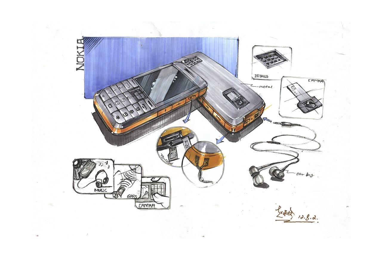 产品手绘/12暑期于黄山手绘工厂