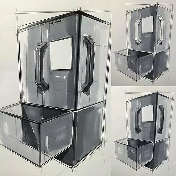 冰箱ps数位板手绘