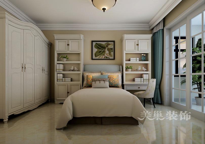 宏光合园88平装修效果图,美式主卧衣柜设计