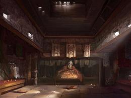 西藏供灯房