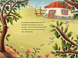 儿童绘本《爷爷和小枣树》