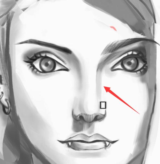 其实鼻子的结构不会比嘴巴少,但是鼻子要画的东西比较少 因为如果你