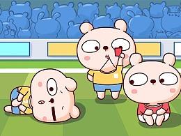冷兔宝宝足球篇——微信表情