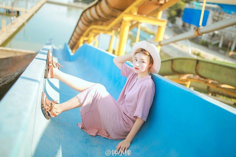 【滑人像】武汉视频写真@钟小棵 滑梯 v人像 2015魔术视频揭秘春晚图片
